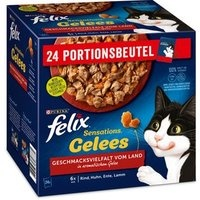 Felix Sensations Gelees Geschmacksvielfalt vom Land 24 x 85 g