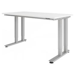 RINO 16 S | 160x80 | Schwerlast-Tisch - weiss