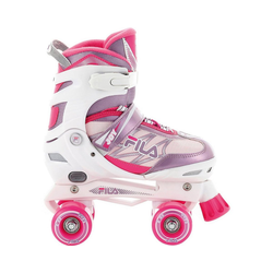 Fila Skates Rollschuhe Rollschuhe Joy G white/pink/violet Größe S (31-34) 39-42