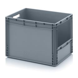 Kunststoffkisten mit öffnung, 600 x 400 x 420 mm