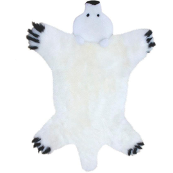 Fellteppich, Spielteppich Bär, Heitmann Felle, tierfellförmig, Höhe 40 mm, gegerbt weiß Kinder Kinderzimmerteppiche Teppiche nach Räumen