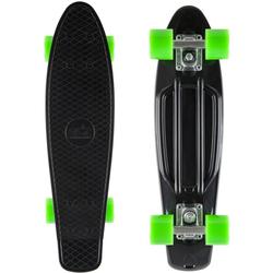 Star-Skateboard Skateboard, Kicktail schwarz