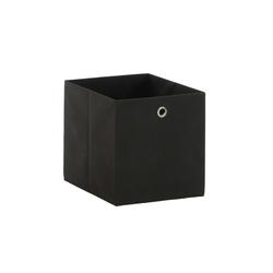 Aufbewahrungsbox in anthrazit, 32 x 32 cm