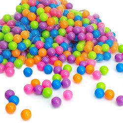5000 bunte Bälle Bällebad 5,5cm Bällebadbälle Spielbälle Pastell  Kinder