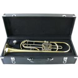 Steinbach Bass-Trompete Steinbach Basstrompete Bb Stimmung in Lederkoffer STRB-100