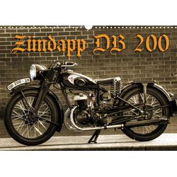 Zündapp DB 200 (Wandkalender 2021 DIN A3 quer)