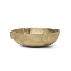 Kerzenhalter Bowl, Designer ferm LIVING, 3.7x14.6x14.6 cm
