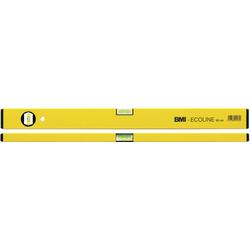 Wasserwaage Construct Länge 60cm Aluminium gelb Messgenauigkeit 1mm/m von BMI