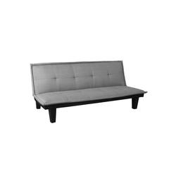 MCW Schlafsofa MCW-C87, Klappbares Sofa, Bequeme Polsterung grau