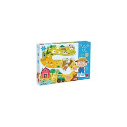 Goula Puzzle GOULA XXL-Puzzle Bauernhof, Puzzleteile