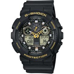 CASIO G-SHOCK Chronograph GA-100GBX-1A9ER, antimagnetisch