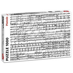 Piatnik Puzzle Musical Notes, 1000 Puzzleteile