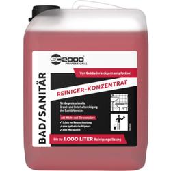 SC 2000 Professional Bad- & Sanitärreiniger, Für die professionelle Grund- und Unterhaltsreinigung, 10 Liter - Kanister