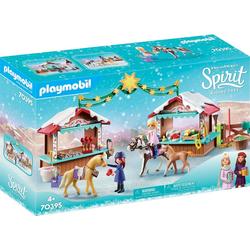 Playmobil® Konstruktions-Spielset Weihnachten in Miradero (70395), Spirit Riding Free, ; Made in Germany