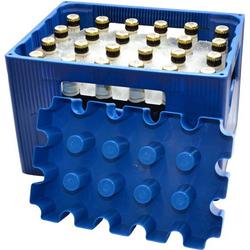 SL Eisblock 20x0,5l Flaschenkühler Kontakt Blau