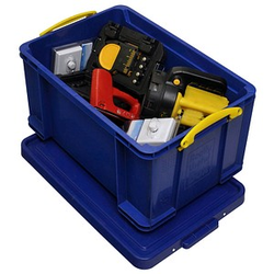 Really Useful Box Aufbewahrungsbox 48,0 l blau 60,0 x 40,0 x 31,5 cm
