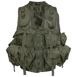 Mil-Tec US Einsatzweste Tactical oliv