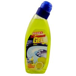 Reinex WC-Reiniger Gel Citro, Löst Kalk, Schmutz und Urinstein, 750 ml - Flasche