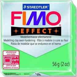 Modelliermasse Fimo effect Kunststoff 56g jade Normalblock