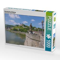 Romantisches Würzburg Lege-Größe 64 x 48 cm Foto-Puzzle Bild von Hanna Wagner Puzzle