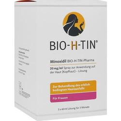 MINOXIDIL BIO-H-TIN Pharma 20 mg/ml Spray Lsg. 180 ml