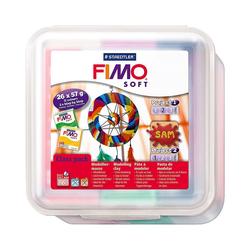 FIMO Knete FIMO soft Class Pack Big Box, 26 x 57 g