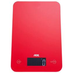 ADE Küchenwaage KE 927 - Slim, mit Sensor-Touch, 15 mm flach, grammgenau bis 5kg