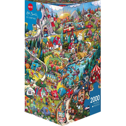 Go Camping! Puzzle 2000 Teile