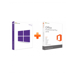 Windows 10 Professional + Office 2016 Professional Plus (Bundle)