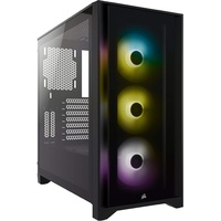 Corsair iCUE 4000X RGB Midi Tower Schwarz
