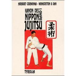 Canon des Nippon Jujitsu I als Buch von Heribert Czerwenka-Wenkstetten
