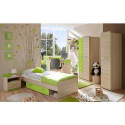 TiCAA Jugendzimmer Lori 6-teilig grün