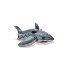 Intex Schwimmtier Aufblasbarer Hai-Fisch Kinder Wasserspielzeug 173 cm
