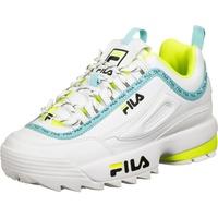 Fila Wmns Disruptor Logo Low white-blue-yellow/ white-yellow, 41