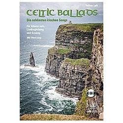 Celtic Ballads  Für Gitarre solo  Liedbegleitung und Gesang  m. Audio-CD. Volker Luft  - Buch