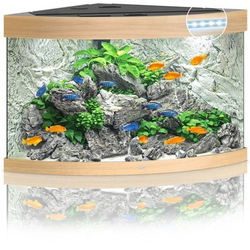 JUWEL Trigon 190 LED Aquarium, 190 Liter, beige