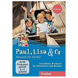 Paul  Lisa & Co: Starter - Interaktives Kursbuch für Whiteboard und Beamer - DVD  Filme