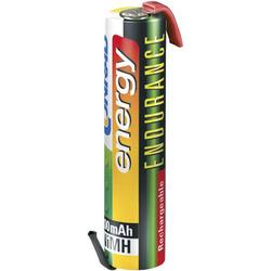 Endurance ZLF Spezial-Akku Micro (AAA) Z-Lötfahne NiMH 1.2V 800 mAh