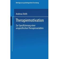Therapiemotivation: eBook von Andreas Veith