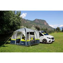 BRUNNER aufblasbares Zelt Trouper, Personen: 4, eingenähter Zeltboden, Panoramafenster