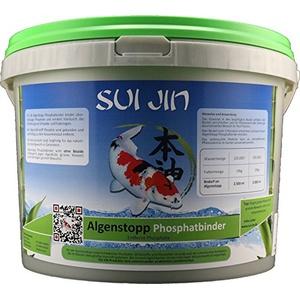 SUI JIN Teichprodukte AlgenStopp Phophatbinder für 250.000 L (5000 ml)