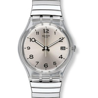 Swatch SILVERALL S GM416B Damenarmbanduhr Design Highlight