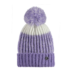 Beanie BENCH - Turn Up Bobble Beanie Light Purple (PU132)