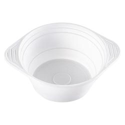 Suppenterrine Suppenteller 750ml, PP, 10 gr, Mikrowellentauglich, weiß, 100 Stk.