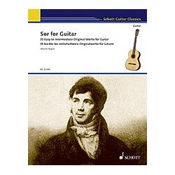 Sor for Guitar  für Gitarre. Fernando Sor  - Buch