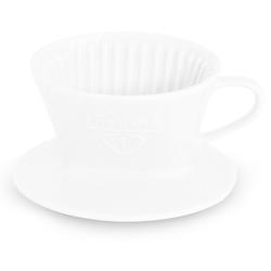 Friesland Porzellan Kaffeebereiter Friesland Tassenfilter Gr. 1 Weiß Porzellan
