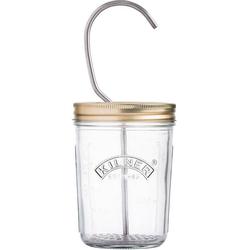 KILNER Vorratsglas, Glas, (1-tlg), zur Herstellung von Mayonnaise, 350 ml weiß