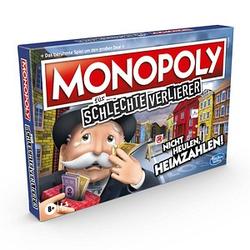 Hasbro MONOPOLY-für schlechte Verlierer Brettspiel