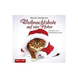 Weihnachtsbote auf vier Pfoten  4 CDs - Hörbuch