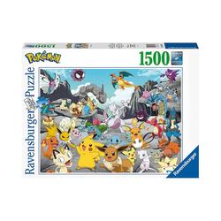 Ravensburger Puzzle Puzzle Pokémon Classics, 1.500 Teile, Puzzleteile